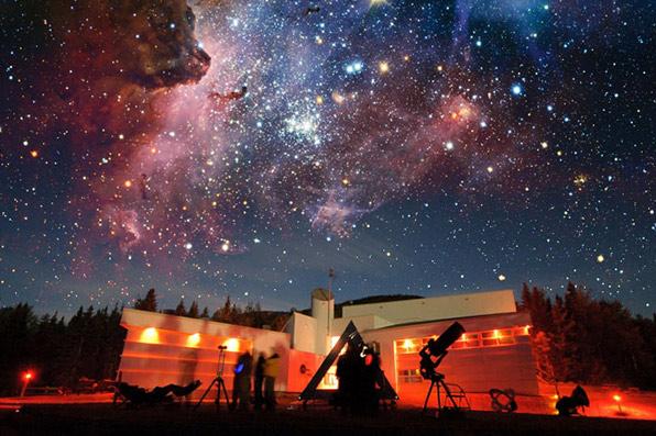 Astrolab Mont-Mégantic acitivités Parc National