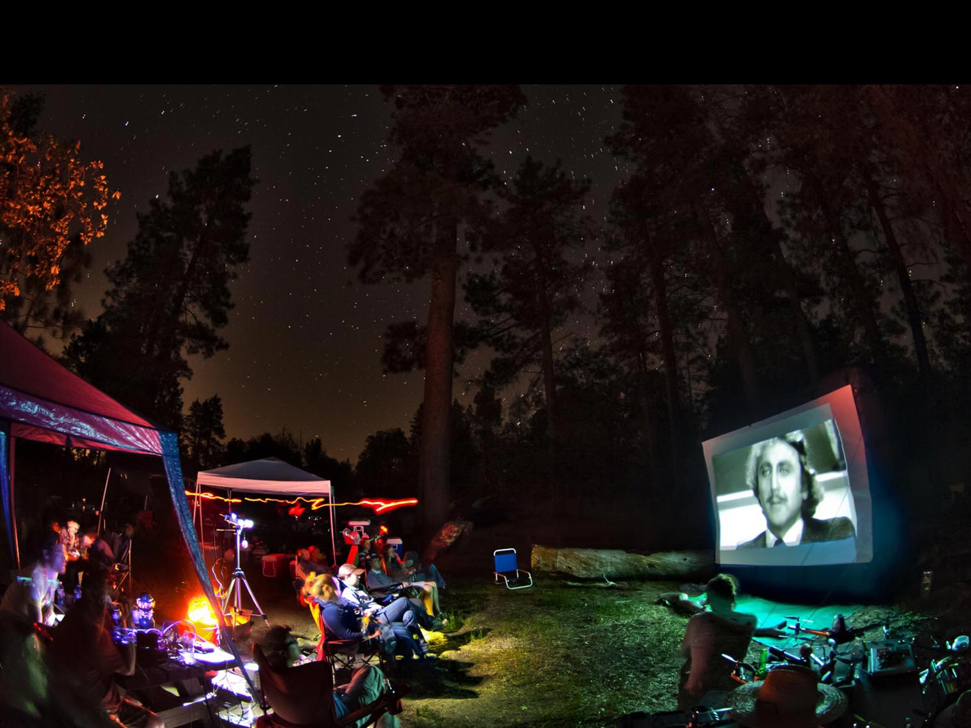 Camping cinéma Estrie